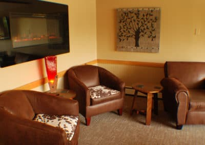 Upstairs lounge for private parties
