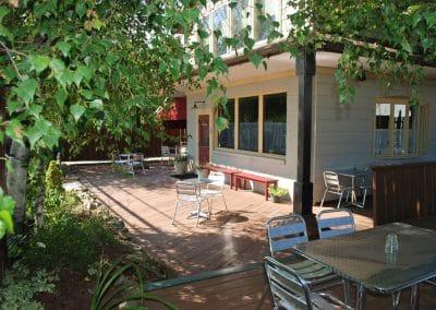 Main Street Wine Bar - outdoors on a beautiful day